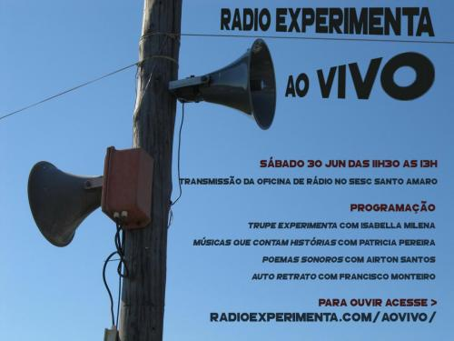 OFICINA SESC :: podcast, streaming, paisagens sonoras [jun2018]